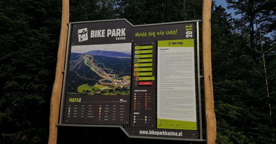 """Śnieżnica i Bike Park """"Kasina"""" - zdjęcie"""
