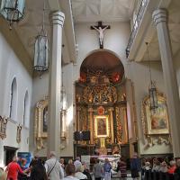 Wnętrze kościoła Św. Doroty