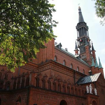 Kościół Św. Doroty w Licheniu Starym