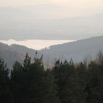 Góra Żar w Międzybrodziu Żywieckim