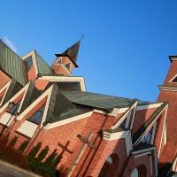 Nowy kościół Św. Wawrzyńca w Bobrownikach