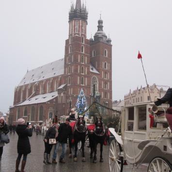 Kraków w pigułce-Jarmark Bożonarodzeniowy