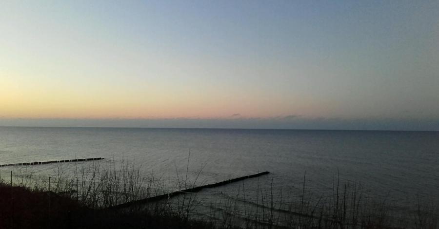 Bałtyk w styczniu - zdjęcie