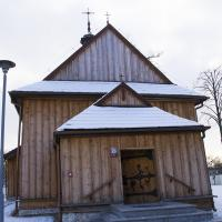 Drewniany kościółek Św. Idziego w Zrębicach