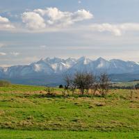 Tatry widok w Kluszkowcach