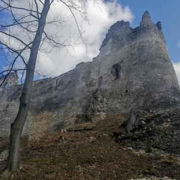 Zamek Blatnica i Dolina Gaderska