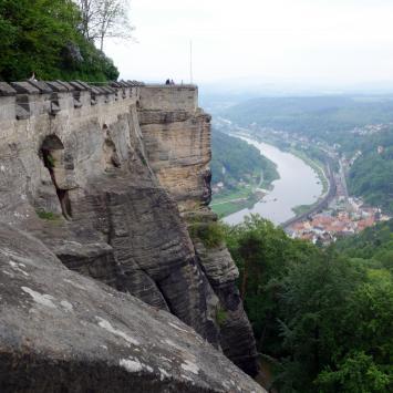 Czeska i saksońska Szwajcaria - Zamek Decin i Twierdza Konigstein