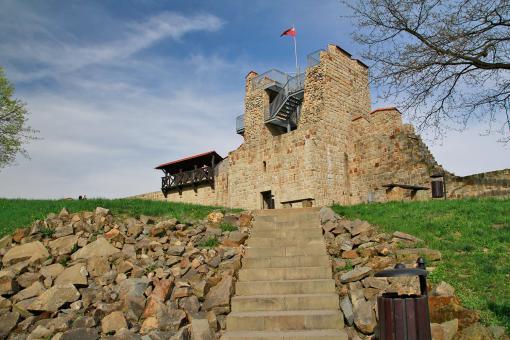 Mury obronne w Dobczycach