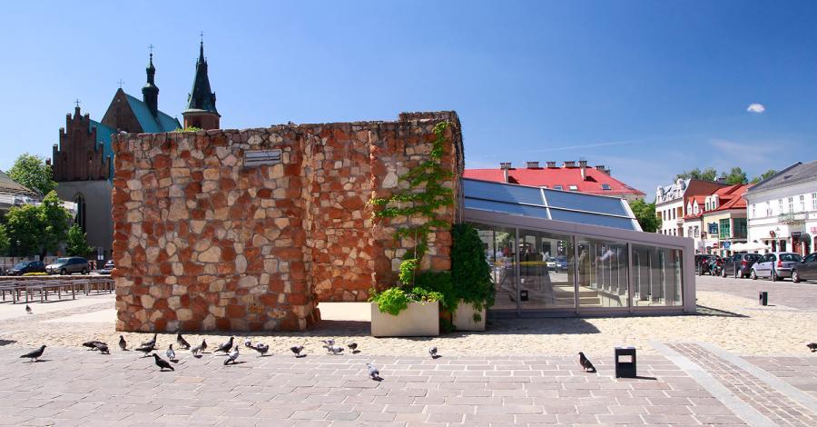 Mury Ratusza w Olkuszu - zdjęcie