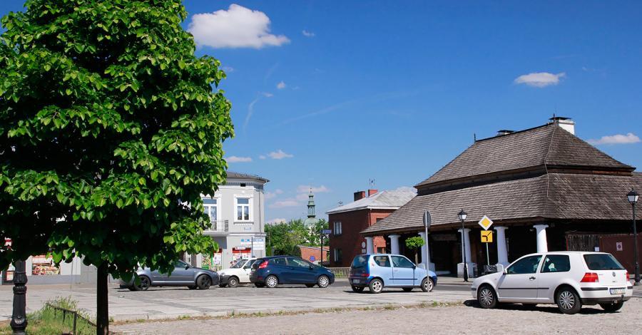 Rynek w Sławkowie - zdjęcie