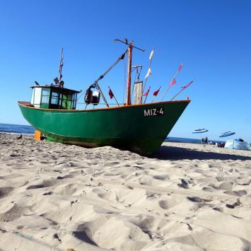 Malownicza plaża wschodnia - Międzyzdroje