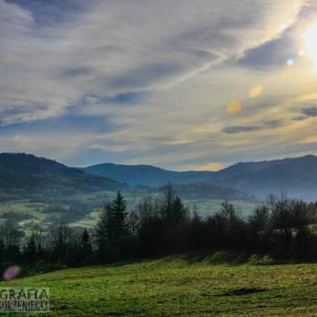 Mała Barania Góra i okolica