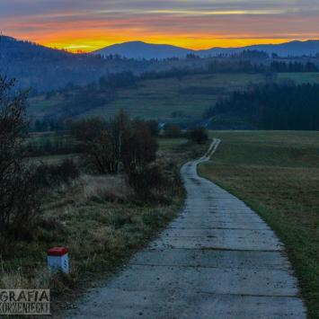 Granicą ... po Beskidzie Śląskim (Zwardoń - Skalite i okoliczne góry) - zdjęcie