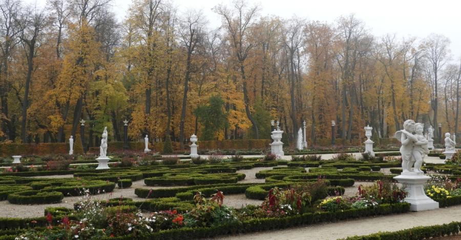 Ogrody Branickich w jesiennych barwach, Joanna
