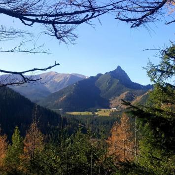 Dolina Lejowa, Nosal i Hala Gąsienicowa
