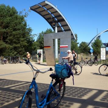 Świnoujście-Ahlbeck-Heringsdorf rowerem
