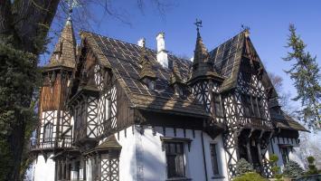 Paprocany, Dom Bawarski i Pałacyk Promnice - zdjęcie