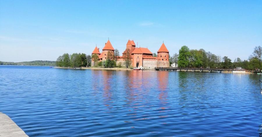 Litwa-zamek w Trokach, marian