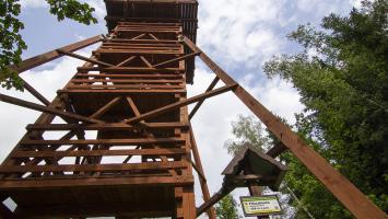 Wieża na Polczakówce w Rabce - zdjęcie