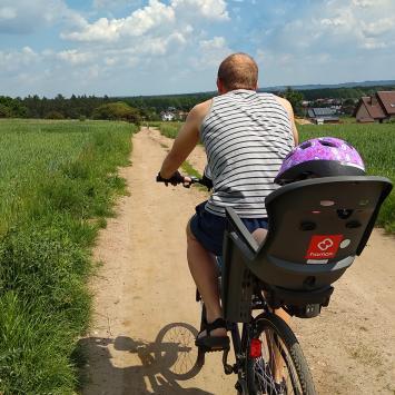 Rowerem przez gminę Świerklaniec