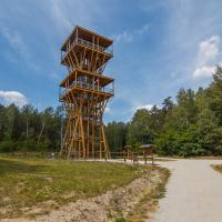 Wieża widokowa w geoparku