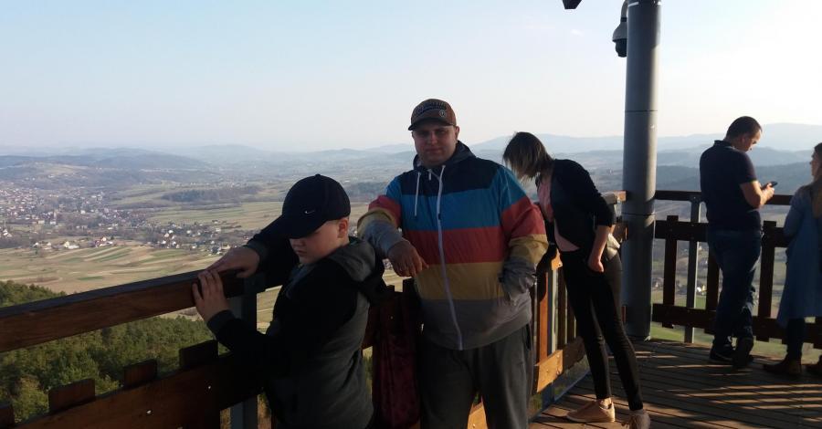 Nowa wieża widokowa na Szpilówce w Iwkowej , Angelika Krajewska