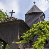 Sierakowice drewniany kościół