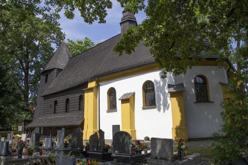 Rachowice drewniany kościół