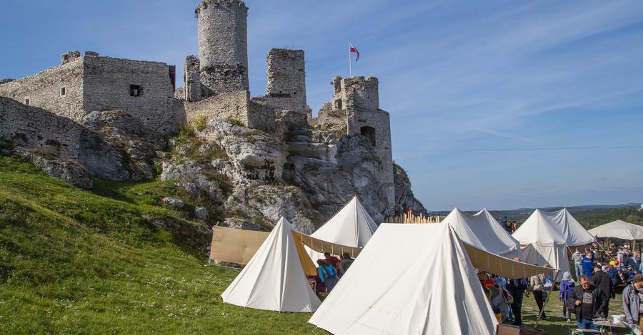 Juromania 2019 zamek Ogrodzieniec, Pustynia Błędowska Róża Wiatrów i zamek Rabsztyn - zdjęcie