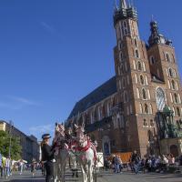 Rynek kościół Mariacki