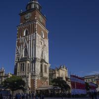 Rynek wieża ratuszowa