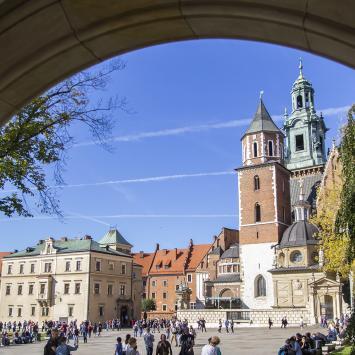 Kraków - wizyta na Wawelu