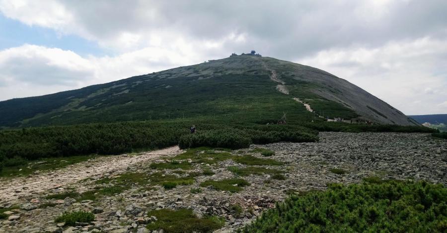 Na Śnieżkę z Przełęczy Okraj - zdjęcie