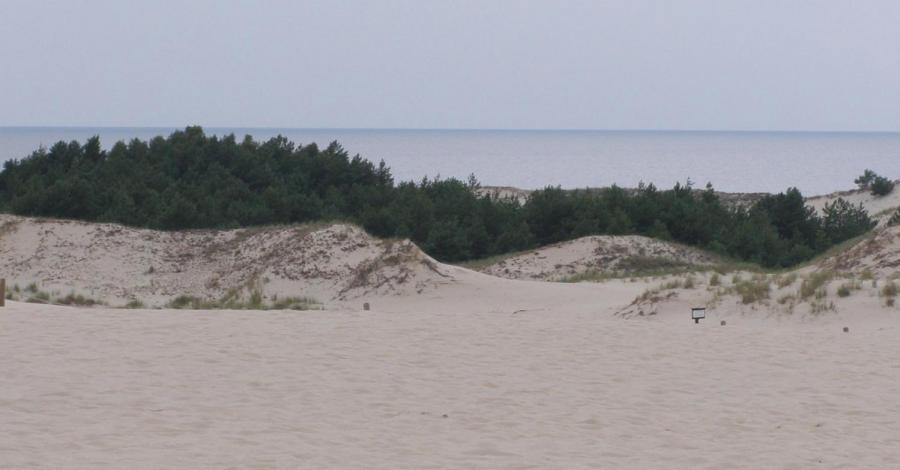 Z dawnych wspomnień: Morze 2011 (Lubiatowo) - zdjęcie