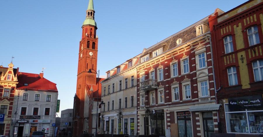 Starogard Gdański, czyli szybko zapadający zmrok w ładnym miasteczku - zdjęcie