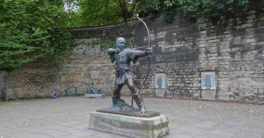 Nottingham, czyli na koniec miasto Robin Hooda - zdjęcie