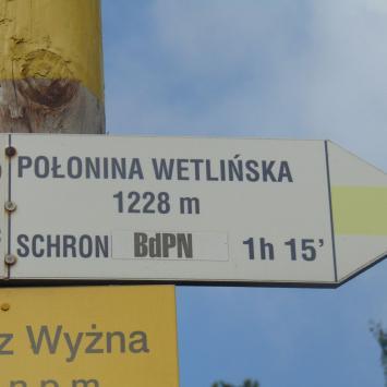 Połonina Wetlińska i Chatka Puchatka