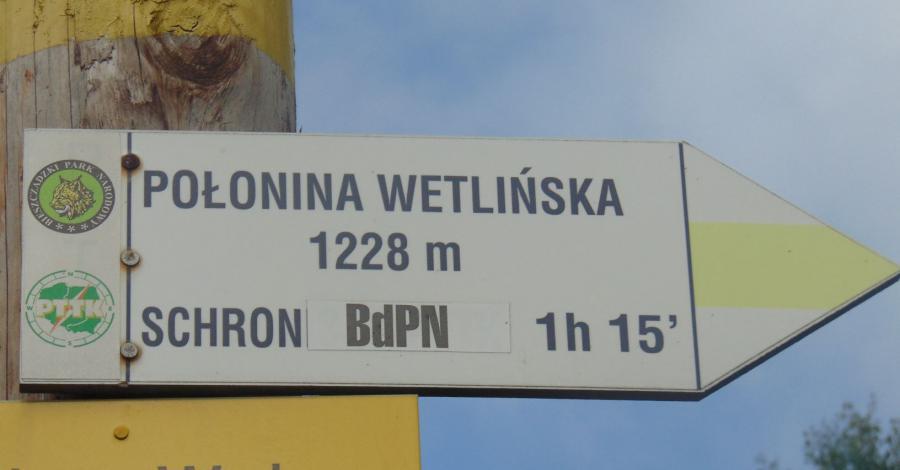 Połonina Wetlińska i Chatka Puchatka - zdjęcie