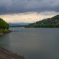 Jezioro Żywieckie z Zapory