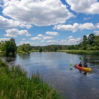 Załęczański Park Krajobrazowy spływ