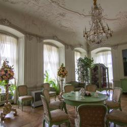 Zamek Książ Salon Biały