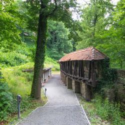 Zamek Książ zejście do podziemi