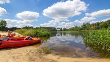 Załęczański Park Krajobrazowy - na Wielkim Łuku Warty!