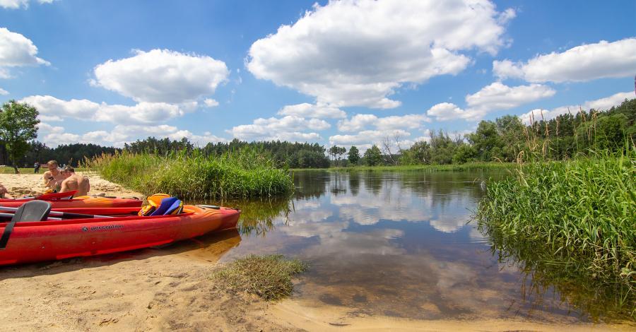 Załęczański Park Krajobrazowy - na Wielkim Łuku Warty! - zdjęcie