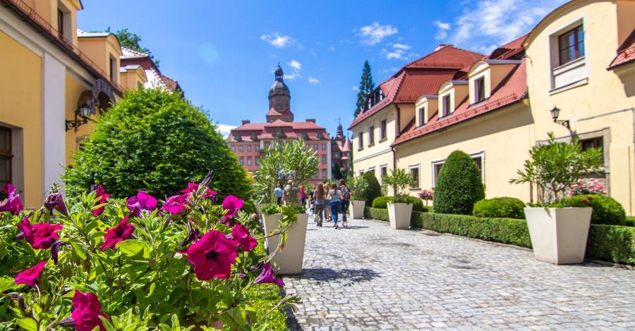 Zamek Książ - trzeci największy zamek w Polsce! - zdjęcie