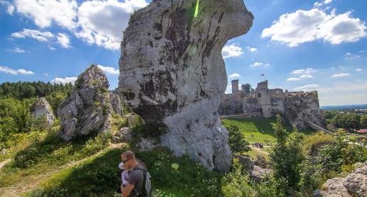 Na cudnym Zamku i w skalnym mieście w śląskim Podzamczu - zdjęcie