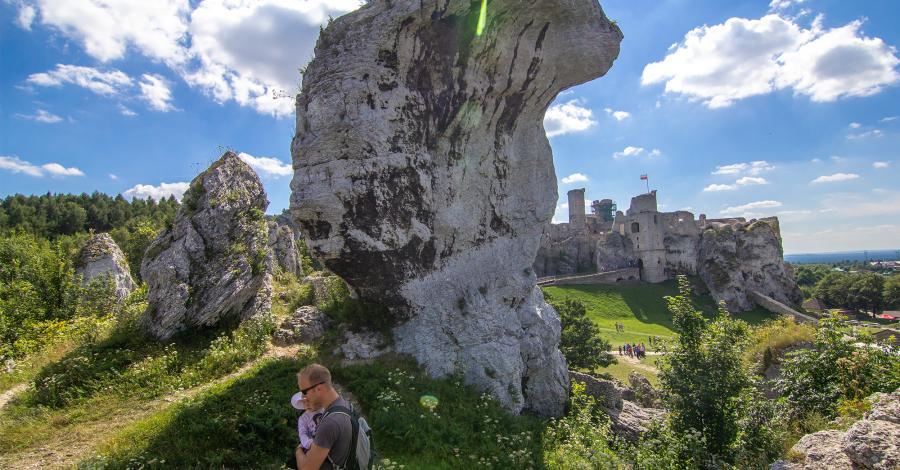 Na Zamku Ogrodzieniec i w skalnym mieście - zdjęcie