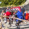 Zamek Ogrodzieniec - walki rycerskie