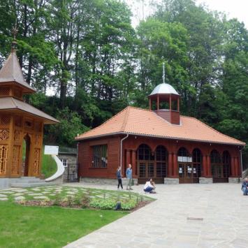 Krynica-Zdrój z Górą Parkową - zdjęcie