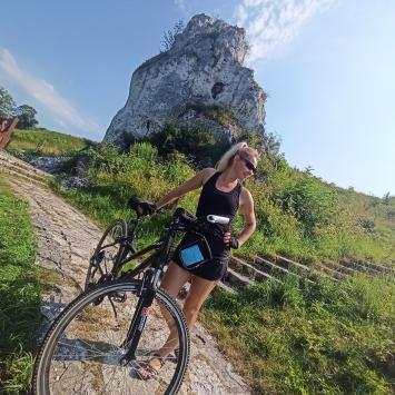 Rowerem przez Jurę - Mstów i Olsztyn